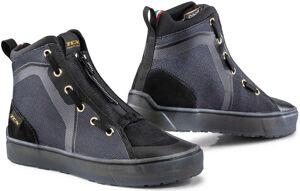 TCX Ikasu Chaussures de moto imperméables pour dames Noir Argent taille : 42
