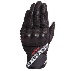 Bering Raven Blouson moto femmes Noir taille : XL