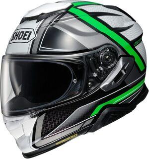 Shoei GT Air 2 Haste casque Noir Blanc Vert taille : XS