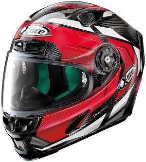 X-Lite X-803 Ultra Carbon Caesar casque Noir Rouge taille : XL