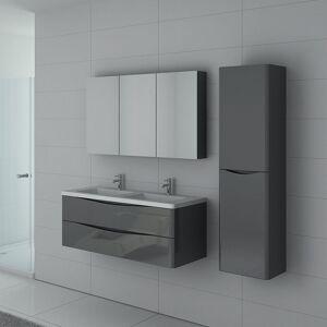 Distribain Meuble salle de bain TREVISE 1200 Gris Taupe