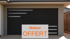 NAO L 3000 mm x H 2800 mm Porte de garage sectionnelle Design