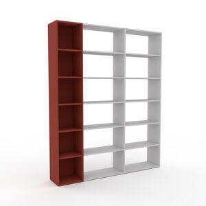 MYCS Bibliothèque - Terra cotta, design, étagère pour livres, sophistiquée, ouverte et fonctionelle - 190 x 233 x 35 cm, personnalisable