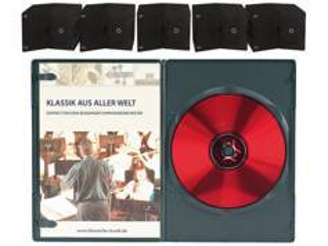 Pearl 50 boîtiers DVD slim (7 mm) noirs pour 1 DVD