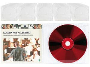 Pearl 50 Boîtiers range-CD transparents