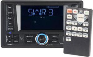 CreaSono Autoradio 2-DIN avec RDS, USB, lecteur SD et bluetooth CAS-4380.bt