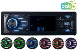 CreaSono Autoradio MP3 / DAB+ avec fonctions bluetooth et mains libres, 4x 45W CAS-4545.bt