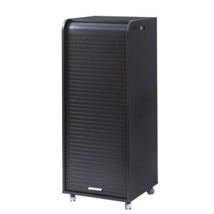 Simmob Caisson de Bureau Mobile Noir 108 cm