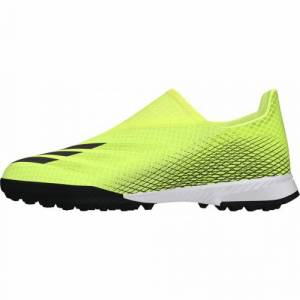 adidas Chaussure X GHOSTED.3 Laceless Terrain Turf Junior  - 35 OL - Foot Lyon