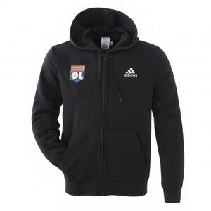 adidas Veste à capuche noir homme  - S OL - Foot Lyon