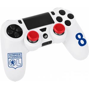 Olympique Lyonnais Kit pour manette ps4 blanc  OL - Foot Lyon