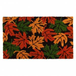 Paillasson coco feuilles d'automne