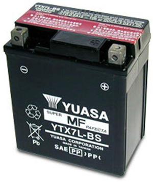 YAMAHA batterie moto pour  YAMAHA 225 XT 225 Serrow (1986-1993)