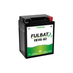FULBAT Batterie moto GEL  FB14L-A2 GEL (12N14-3A) /YB14L-A2   FULBAT SLA Etanche  14.7AH 175 AMPS