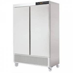 TECHNITALIA Armoire congélateur inox 1200 L groupe en bas - 2 portes