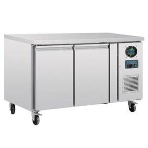 POLAR Table réfrigérée négative Polar Série U profondeur 700 - 2 portes