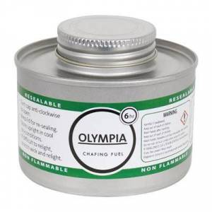 OLYMPIA Combustible liquide pour Chafing dish 6h x 12