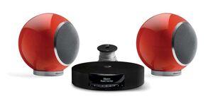 Elipson pack music center bt hd + chromecast + planet l 2.0 rouge + câble hp 10m