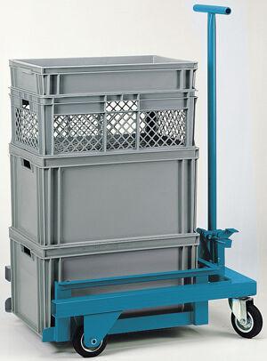 SETAM Chariot pour caisse plastique 600x400 force 300 kg