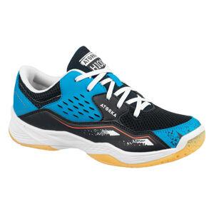 ATORKA Chaussures de handball enfant H100 avec lacets bleu/noir - ATORKA - 35