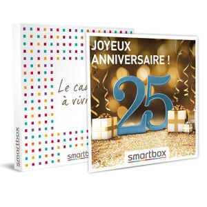 Smartbox Joyeux anniversaire ! 25 ans Coffret cadeau Smartbox