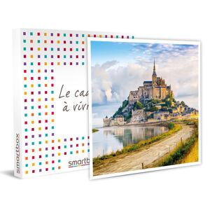 Smartbox Séjour 2 nuits en duo près du mont Saint-Michel Coffret cadeau Smartbox