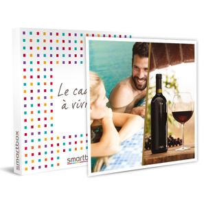 Smartbox Pause bien-être et atelier œnologique en duo Coffret cadeau Smartbox