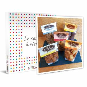 Smartbox Coffret gourmand avec déclinaison de sablés à recevoir à la maison Coffret cadeau Smartbox