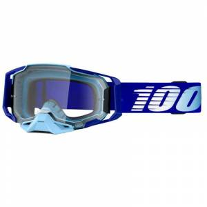 100% Masque cross 100% ARMEGA ROYAL - CLEAR 2021 Bleu