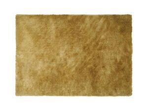 Vente-unique Tapis shaggy GLITTER -160 x 230 cm - Doré